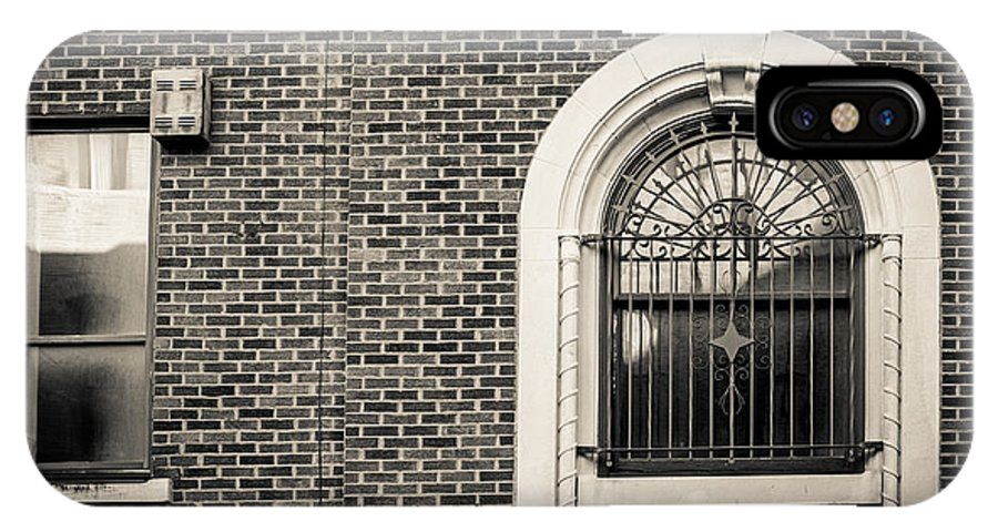 Architecture IPhone X Case featuring the photograph Iron Arches by Melinda Ledsome