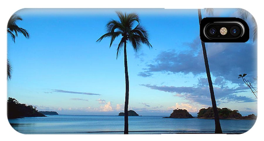 Island IPhone X Case featuring the photograph Isla Secas by Carey Chen
