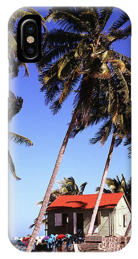 Caye Caulker IPhone X Case featuring the photograph Island Life by Thomas R Fletcher