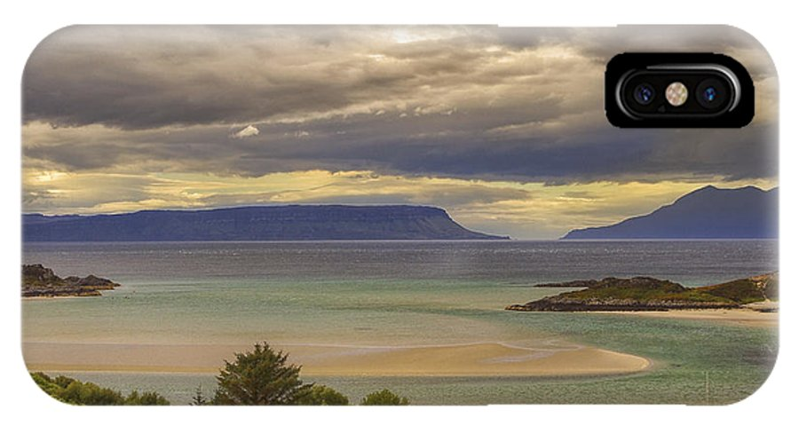 Scotland IPhone X Case featuring the photograph Isles Of Eigg And Rum by Jason Politte