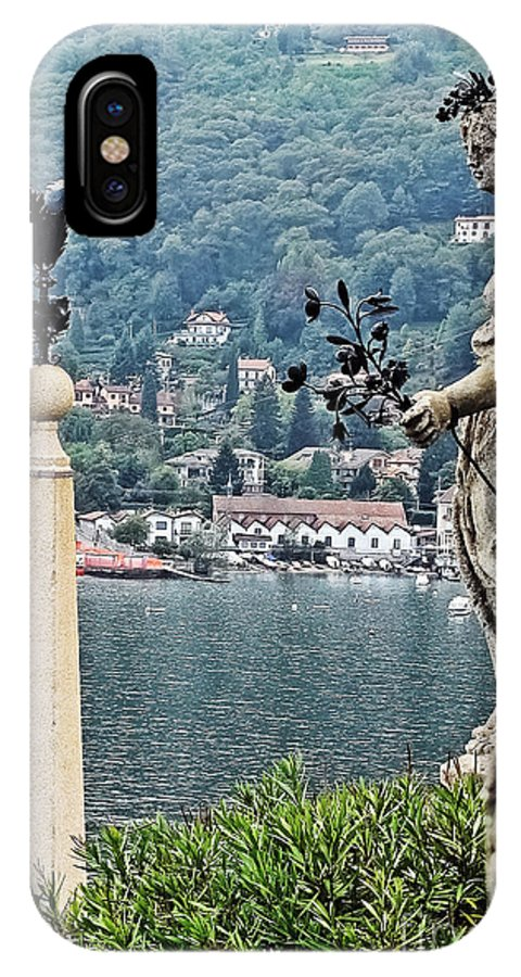 Travel IPhone X Case featuring the photograph Isola Bella Beauty by Elvis Vaughn