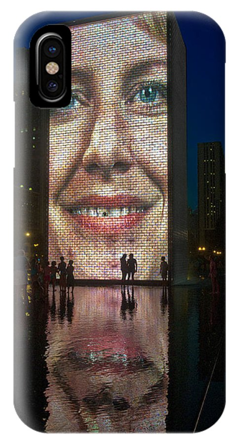 Route 66 IPhone X Case featuring the photograph It Winds From Chicago by Gary Warnimont