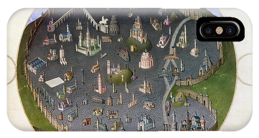 15th Century IPhone X Case featuring the photograph Italy: Rome, 15th Century by Granger