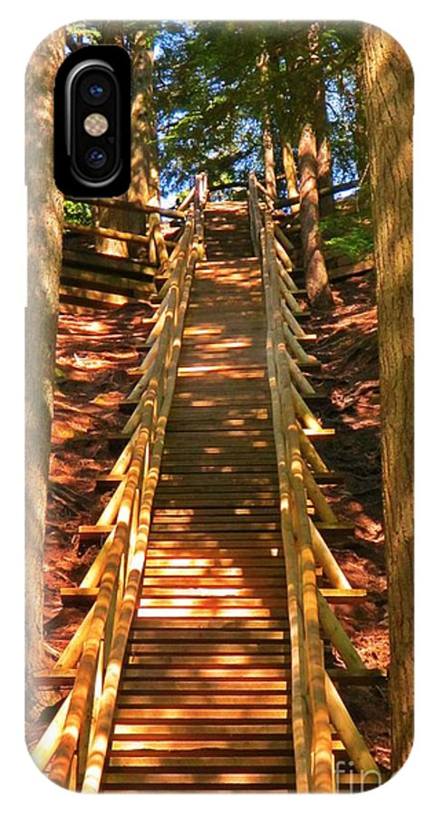 Jacobs Ladder IPhone X Case featuring the photograph Jacobs Ladder by John Malone