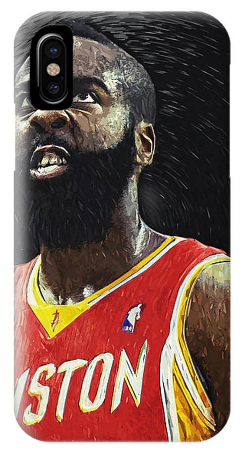 finest selection 33bb1 ee85f James Harden IPhone X Case