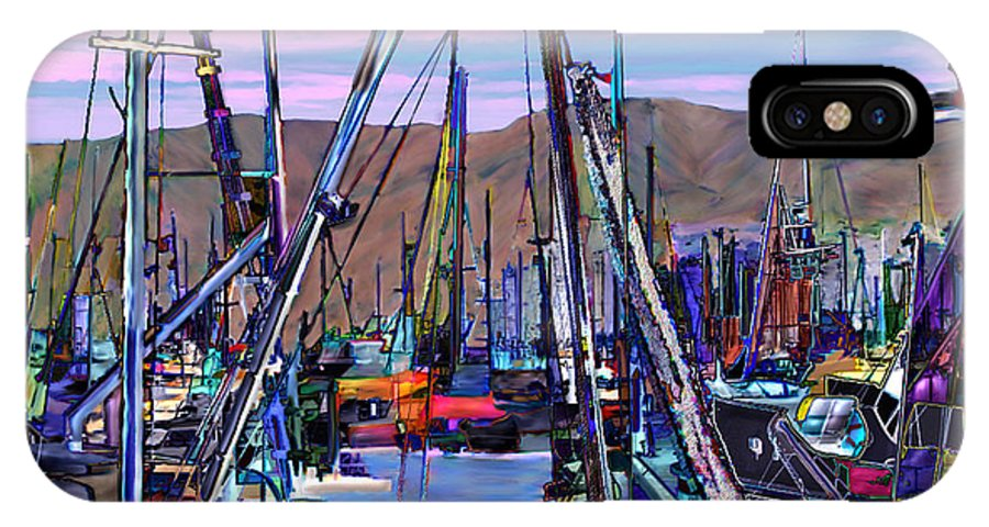 Harbors IPhone X Case featuring the photograph Jammin At Twilight by Kurt Van Wagner
