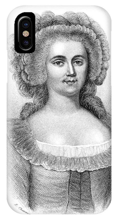 Jeanne IPhone X Case featuring the drawing Jeanne De Luz De St by Mary Evans Picture Library