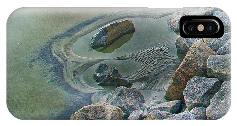 Jekyll IPhone X Case featuring the photograph Jekyll Island Tidal Pool by Betsy Knapp
