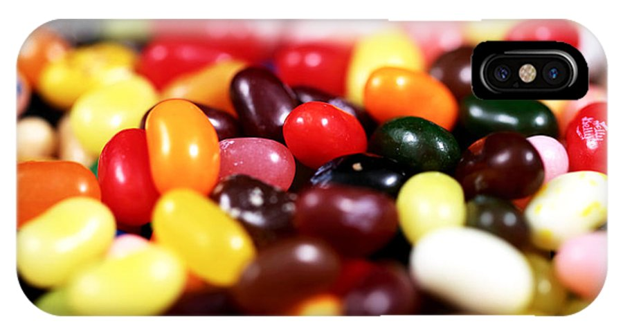 Jelly Beans IPhone X Case featuring the photograph Jelly Beans by John Rizzuto