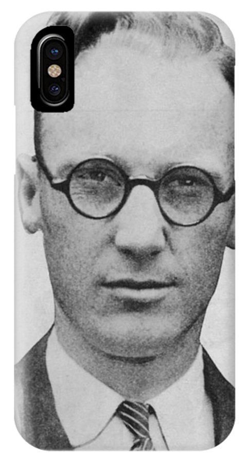 Scopes IPhone X Case featuring the photograph John Thomas Scopes American by Mary Evans Picture Library