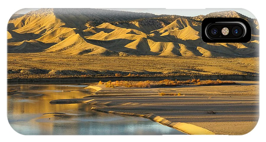 Landscape IPhone X / XS Case featuring the photograph Jurassic Colorado by Bruce Wolke