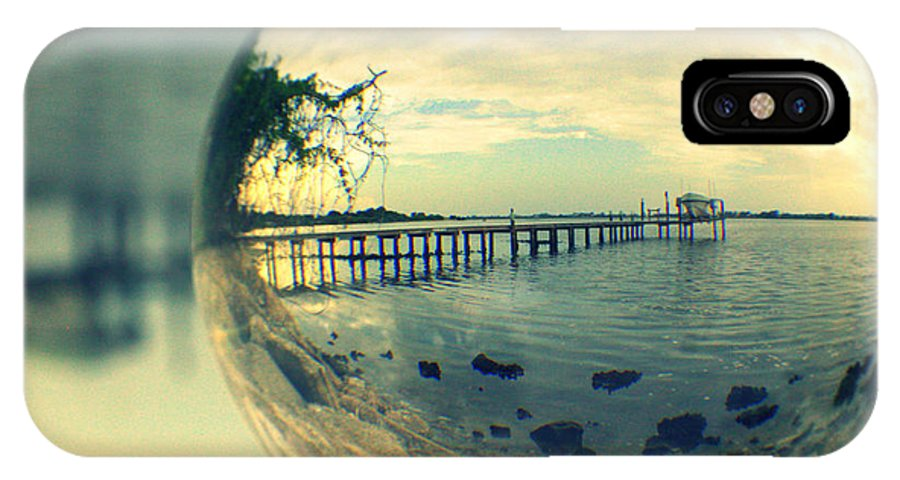 Nature IPhone X Case featuring the photograph Just Another Pier II by L E Kobler