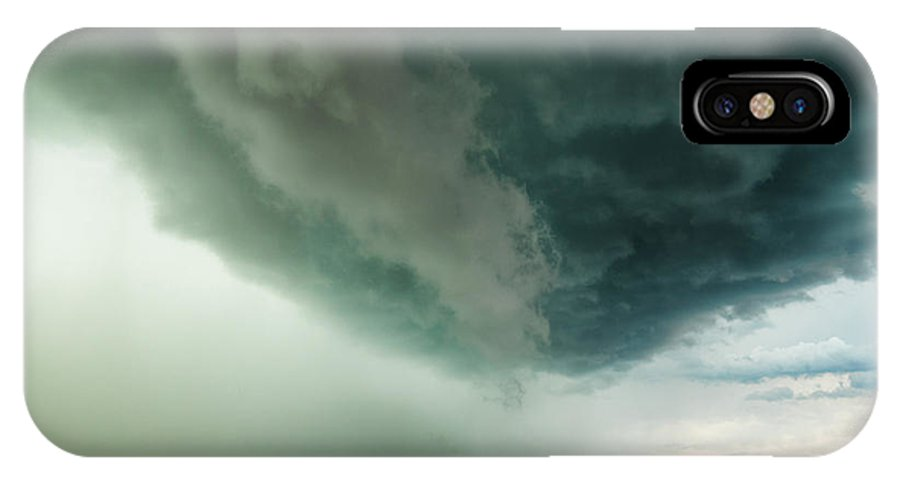 Storm IPhone X Case featuring the photograph Just Before The Storm by Pino Perrotta