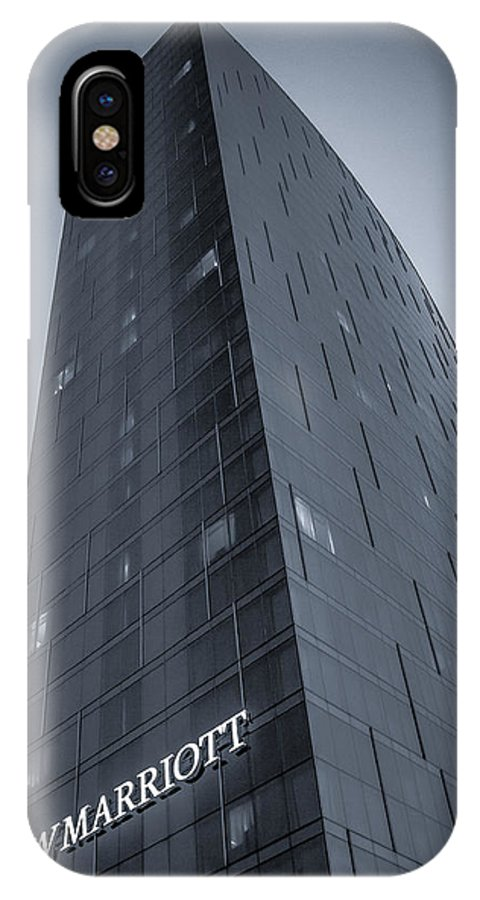 Jw Marriott IPhone X Case featuring the photograph Jwmarriott by Daniel Cline