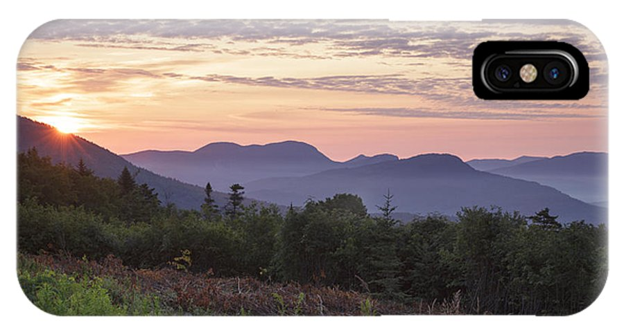 C.l. Graham Wangan Grounds IPhone X Case featuring the photograph Kancamagus Highway - White Mountains New Hampshire USA by Erin Paul Donovan