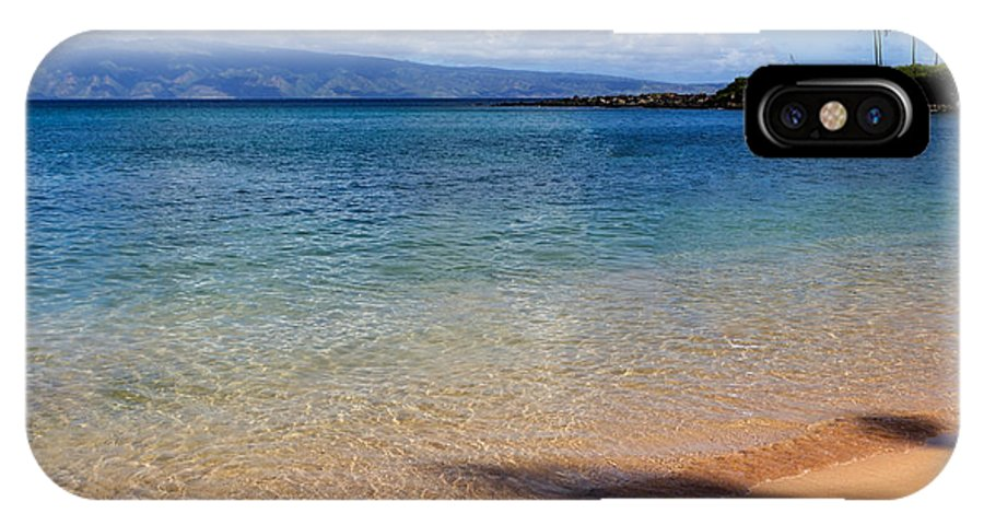 Beach IPhone X Case featuring the photograph Kapalua Bay Maui by Heidi Smith