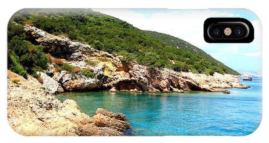 Island IPhone X Case featuring the photograph Karaada by Alptug Oren