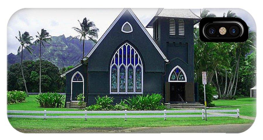 Church IPhone X Case featuring the photograph Kauai Church 2 by Catherine Rogers