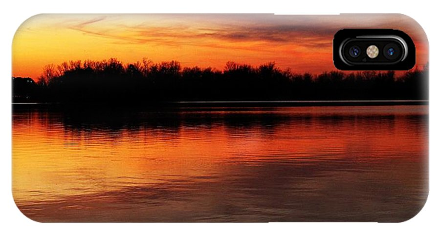 Evening IPhone X Case featuring the photograph Keep The Water Warm by Frank Chipasula