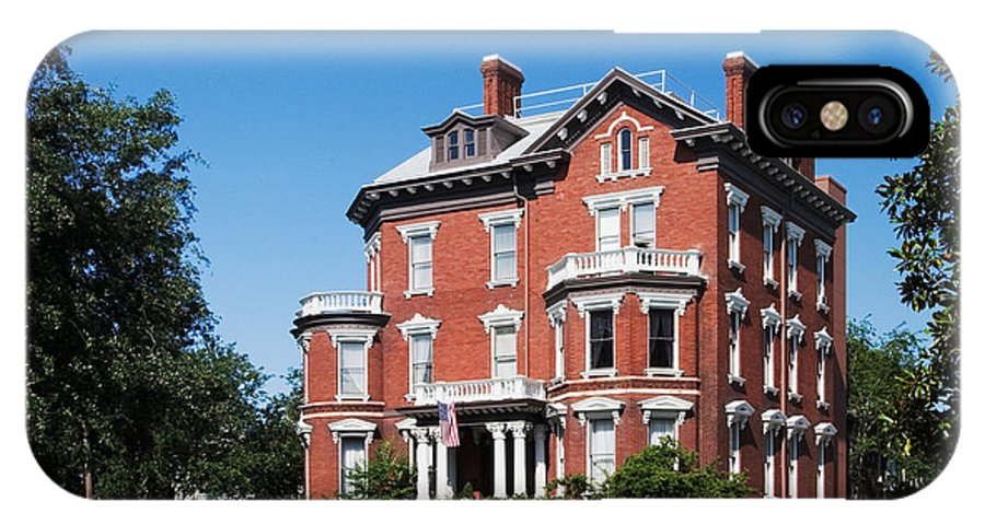 Attraction IPhone X / XS Case featuring the photograph Kehoe House by David Davis