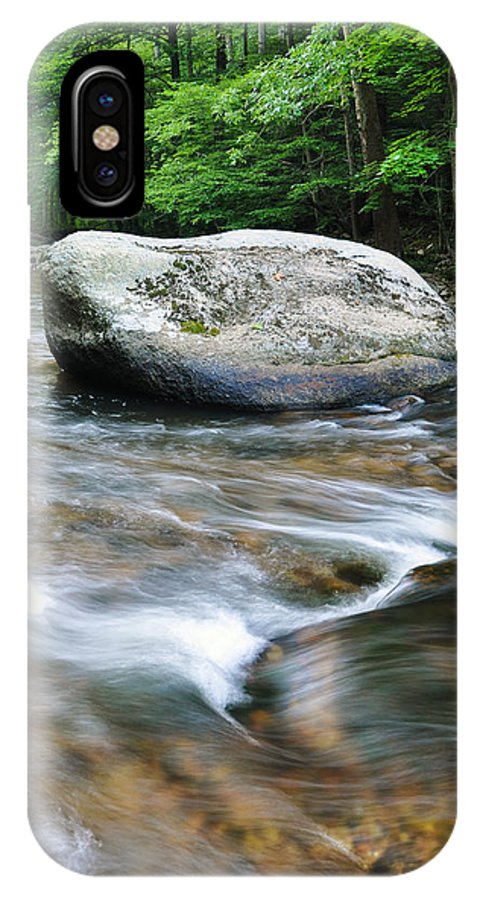 Water IPhone X Case featuring the photograph Ken Lockwood Gorge by Sherri Quick