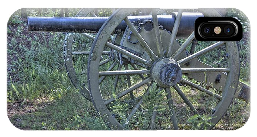 Kennesaw IPhone X Case featuring the photograph Kennesaw Cannon 4 by Jonathan Harper
