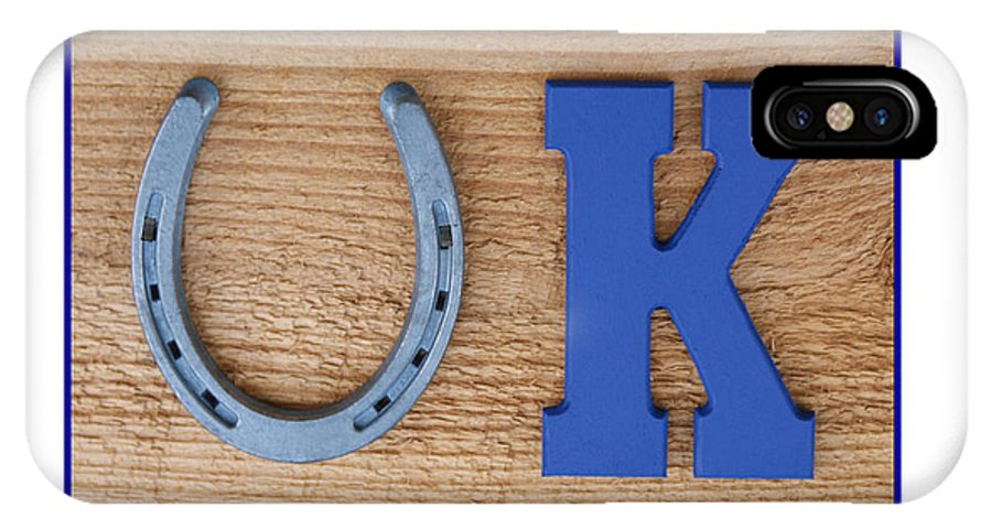Uk IPhone X / XS Case featuring the photograph Kentucky Proud by Roger Potts