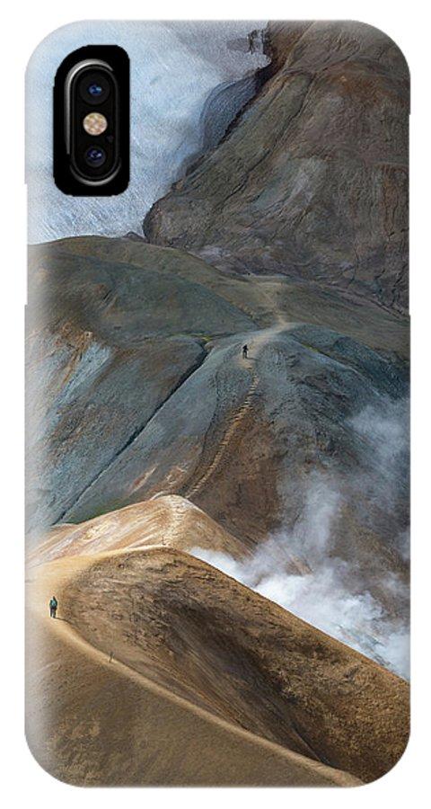 Iceland IPhone X Case featuring the photograph Kerlingarfja?ll by Ira Aschermair