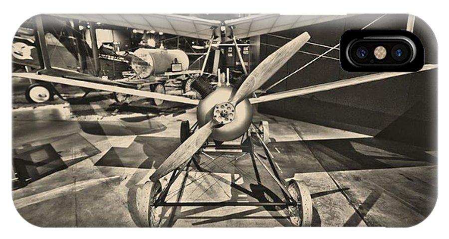 Kettering Aerial Torpedo Bug IPhone X Case featuring the photograph Kettering Aerial Torpedo Bug by Dan Sproul