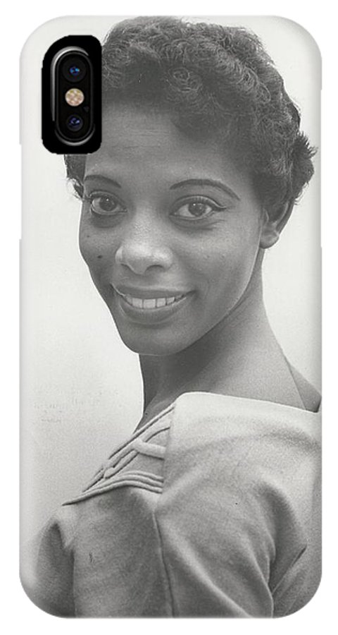 Singer IPhone X Case featuring the photograph Ketty Lester by Sandras