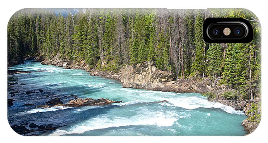 Kicking Horse River In Yoho Np IPhone X Case featuring the photograph Kicking Horse River In Yoho Np-bc by Ruth Hager