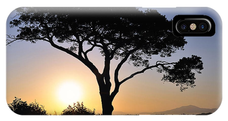 Sunrise IPhone X Case featuring the photograph Killarney Sunrise by Michael Walsh