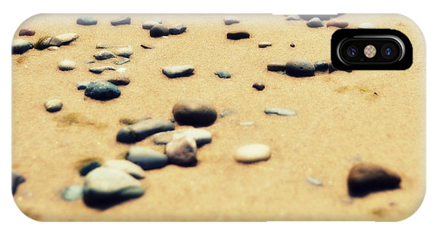 Stones IPhone X Case featuring the photograph Kissing The Earth by Poetry and Art