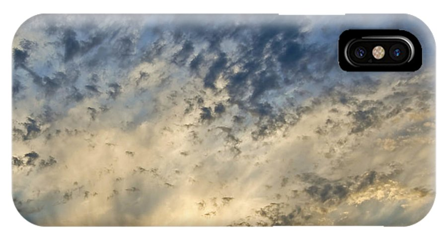 Sunrise IPhone X Case featuring the photograph Knocking On Heaven's Door by Patrick Meek