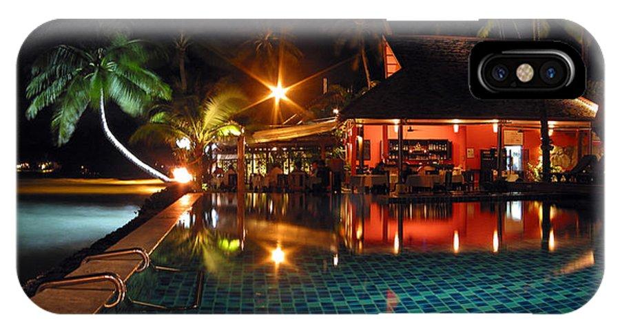 3scape IPhone X Case featuring the photograph Koh Samui Beach Resort by Adam Romanowicz