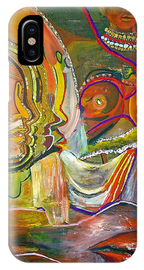 Impressionism IPhone Case featuring the painting Koulikoro Woman by Peggy Blood