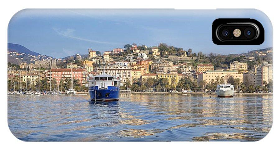 La Spezia IPhone X Case featuring the photograph La Spezia by Joana Kruse