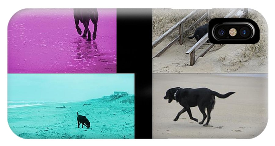 Black Lab IPhone X Case featuring the photograph Labalicious Love by R Kell