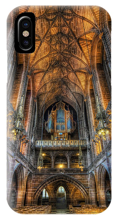 Chapel IPhone X Case featuring the photograph Lady Chapel by Ian Mitchell