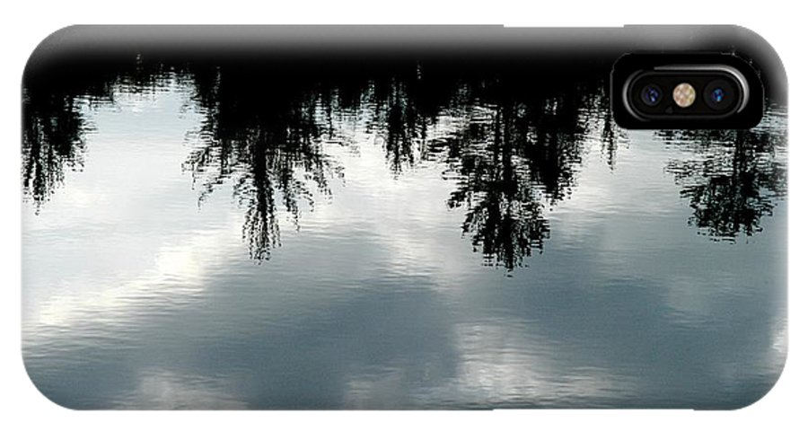 Mike Hunter IPhone X Case featuring the photograph Lake At Glen's by Joseph Yarbrough