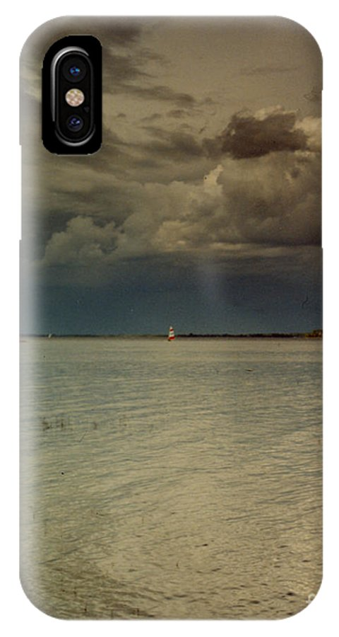 Lake IPhone X Case featuring the photograph Lake Champlain by Nancie Johnson