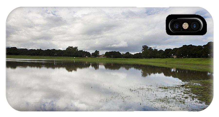 Travel IPhone X Case featuring the photograph Lake Lagunita Stanford University by Jason O Watson