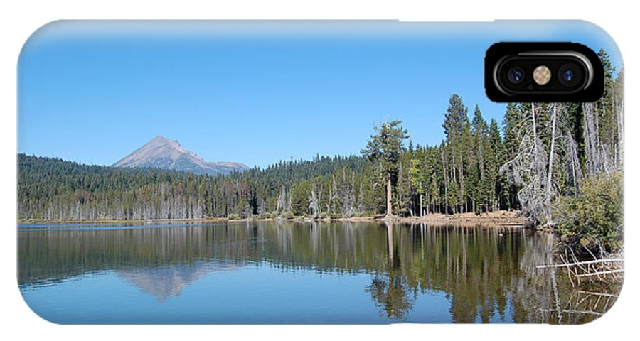 Lake Of The Woods Oregon IPhone X Case featuring the photograph Lake Of The Woods 1 by Debra Thompson
