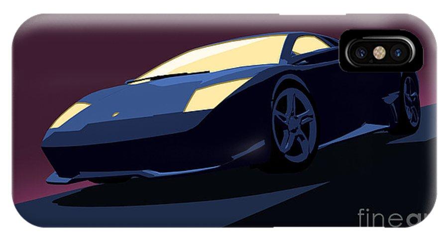 Lamborghini Murcielago Pop Art Iphone X Case For Sale By Pixel Chimp