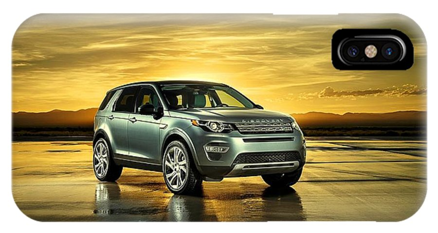 Land Rover Discovery Sport Iphone X Case Featuring The Photograph Land Rover Discovery Sport By Movie