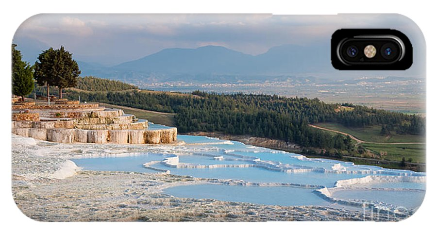 Ancient IPhone X Case featuring the photograph Landscape Of Pamukkale by Natapong Paopijit