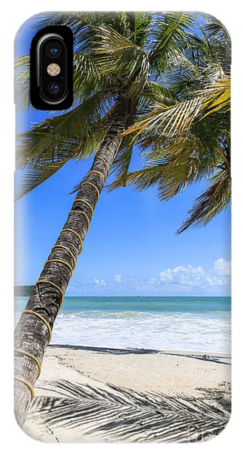 Langkawi IPhone X Case featuring the photograph Langkawi Palm Trees by Didier Marti