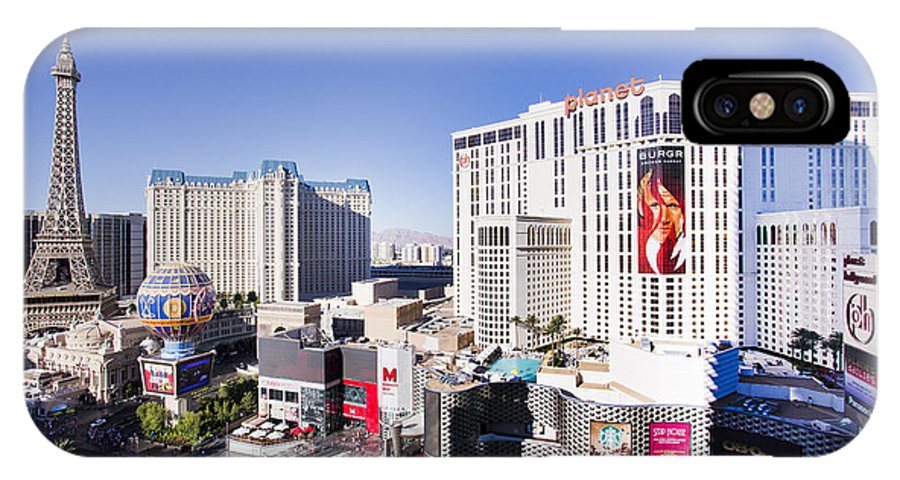 Las Vegas Strip Iphone X Case For Sale By Sv
