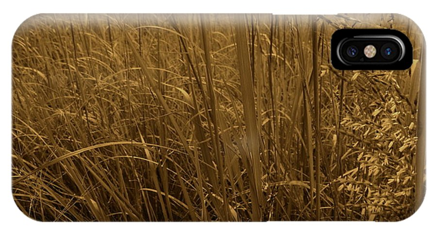 Tiwago IPhone X Case featuring the photograph Late Summer Day In The Prairie by Photography by Tiwago