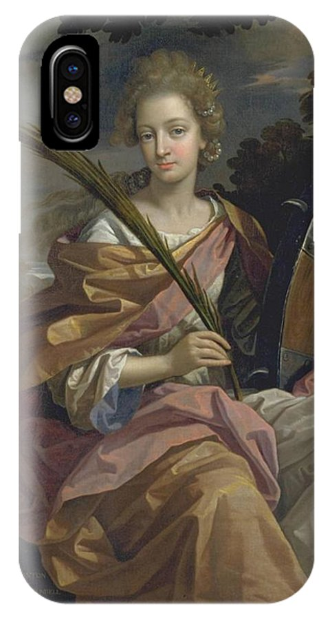 Benedetto Gennari Elizabeth Pantonlater Lady Arundell Of Wardour IPhone X / XS Case featuring the painting Later Lady Arundell Of Wardour by Celestial Images